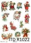 Boże Narodzenie, zima, Święty Mikołaj, prezenty, choinka, dzieci, renifery,