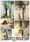 Papier decoupage malarstwo współczesne*Paper decoupage contemporary painting