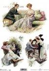 decoupage-randka-zakochani-kochankowie-miłość-schadzka-rendez-vous-retro-vintage-R0132