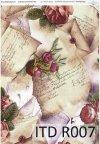 papier ryżowy decoupage - kwiaty, Vintage*papel de arroz decoupage - flores, de la vendimia