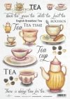 tea, cup, cups, teapot, tea time, Inscriptions, R412