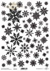 Papel scrapbooking vintage, copos de nieve, invierno, navidad*Scrapbooking Papier der Weinlese, Schneeflocken, Winter, Weihnachten*Урожай скрапбукинг бумаги, снежинки, зима, Рождество