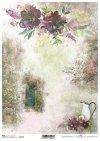 Podróż marzeń-Tajemniczy ogród, drzwi, sentencje, cytaty, kwiaty...