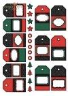 .Papier do scrapbookingu SCRAP-001 ''Christmas''