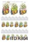 Wielkanoc, kurczaki, kurczaczki, kwiatki, wiosna, jajka, pisanki, koronka, koronki, R304
