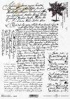 rice paper Vintage , old letter*Vintage, alter Brief*Винтаж, старое письмо