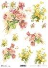 decoupage Papierblumen Primula*decoupage flores de papel Primula*decoupage papírové květiny Primula