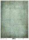 Vintage, kropki, kropeczki, zielone tło w kropki