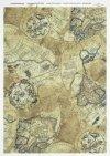 papier ryżowy decoupage - stare mapy * papel de arroz para decoupage - mapas antiguos