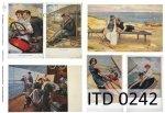 Papier decoupage ITD D0242M