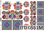 Papier für Serviettentechnik und Decoupage D0551M