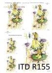 Reispapier für Serviettentechnik und Decoupage R0155