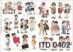 Decoupage paper ITD D0402M