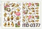 Decoupage paper ITD D0377