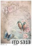 Decoupage paper Soft ITD S0313