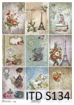 Decoupage paper Soft ITD S0134