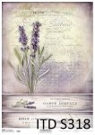 Decoupage paper Soft ITD S0318