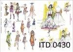 Decoupage paper ITD D0430