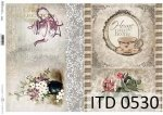 Decoupage paper ITD D0530