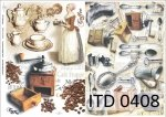 Decoupage paper ITD D0408