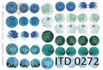 Decoupage paper ITD D0272