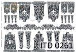 Decoupage paper ITD D0261
