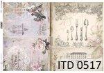 Decoupage paper ITD D0517