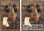 Decoupage paper ITD D0186