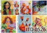 Decoupage paper ITD D0526