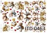 Decoupage paper ITD D0463