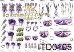 Decoupage paper ITD D0105