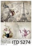 Decoupage paper Soft ITD S0274