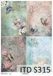 Decoupage paper Soft ITD S0315