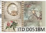 Decoupage paper ITD D0518M