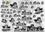 Decoupage paper ITD 0126M
