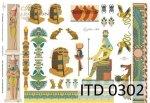 Papier decoupage ITD D0302