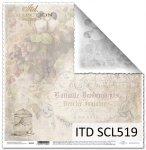 Papier scrapbooking SCL519