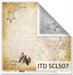 Papier scrapbooking SCL507