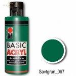 Farba akrylowa Basic Acryl 80 ml Savtgrun 067