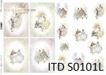 Papier decoupage SOFT ITD S0101L