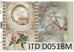 Papier decoupage ITD D0518M