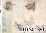 Papier decoupage SOFT ITD S0139L