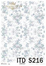 Papier decoupage SOFT ITD S0216