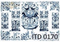 Papier decoupage ITD D0170