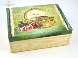 Magiczne pudełko IX 'Czas na herbatę' - praca Zdeňka Otipková Czechy