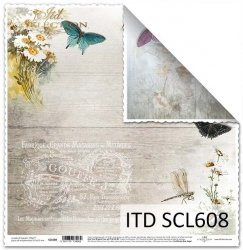 Papier scrapbooking SCL608