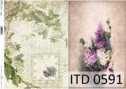 Papier decoupage ITD D0591