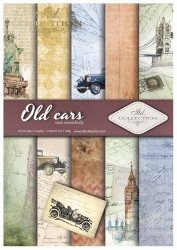 .Papier do scrapbookingu SCRAP-010 ''Old cars''
