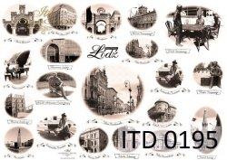 Papier decoupage ITD D0195