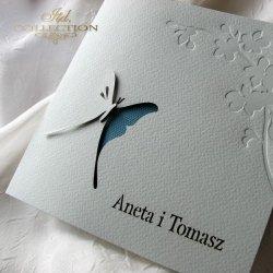 Zaproszenia ślubne / zaproszenie 01724_18_turkus